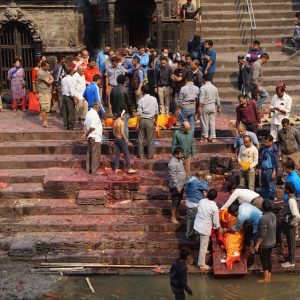 Washing Dead Body, Pasupathinath Temple