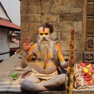 Sadhu, Pasupatinath Temple