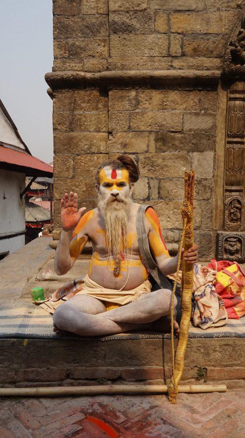 Sadhu, Pashupatinath Temple