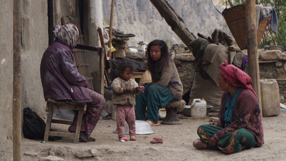 A Family near Jharkot