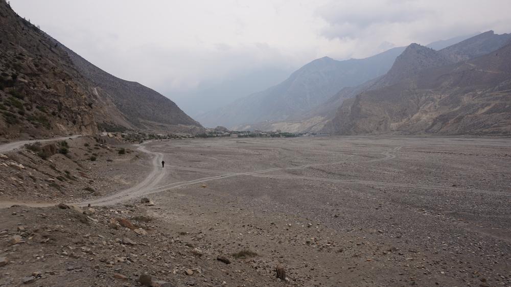 Dry Landscape, Jomsom Trekking