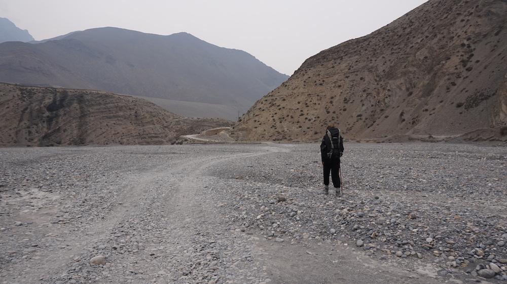 Dry Landscape 2, Jomsom Trekking