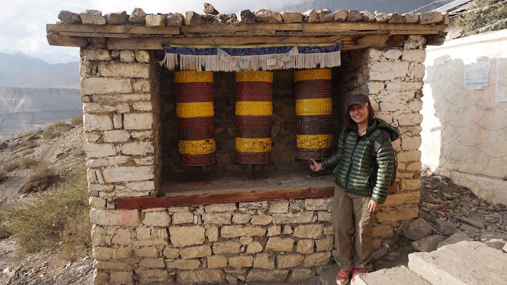 Prayer Wheel Muktinath