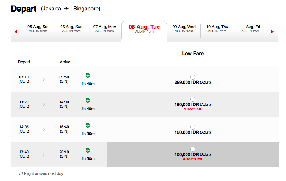 Ticket Promo Air Asia