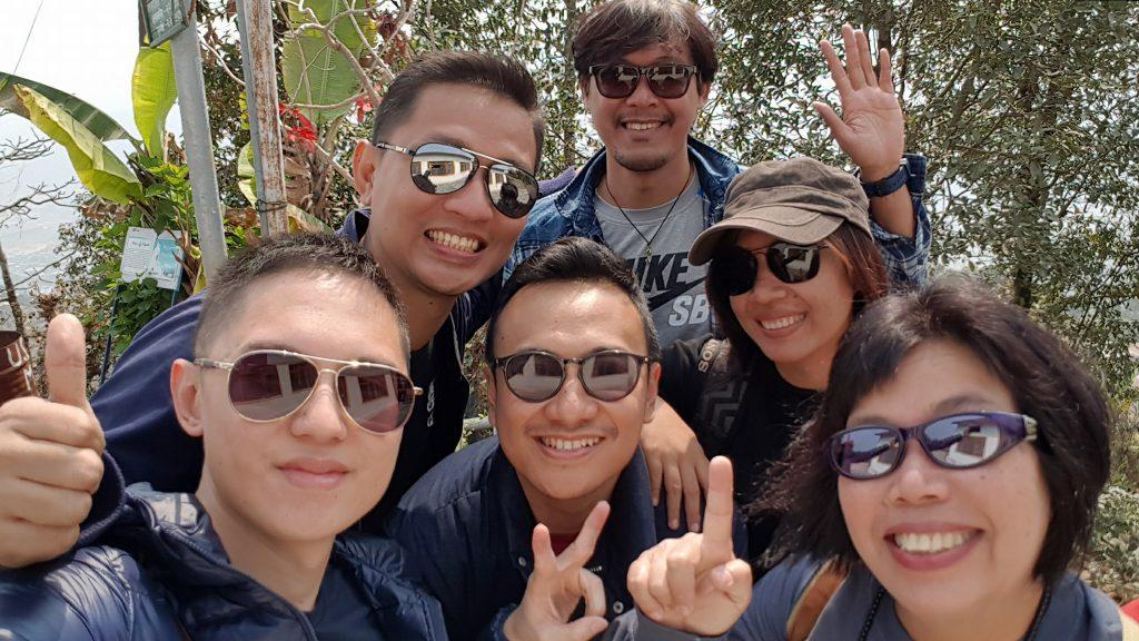 at World Peace Pagoda