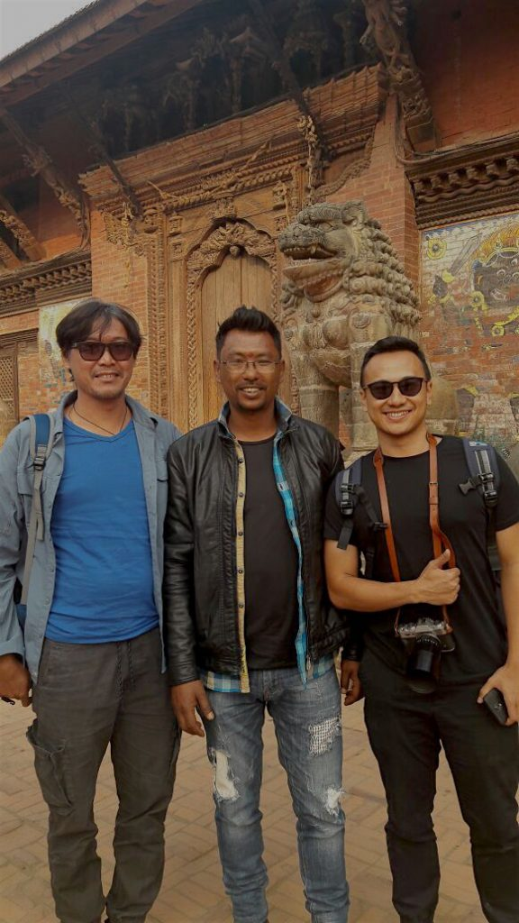 Anil Shresta Dai Guide at Patan
