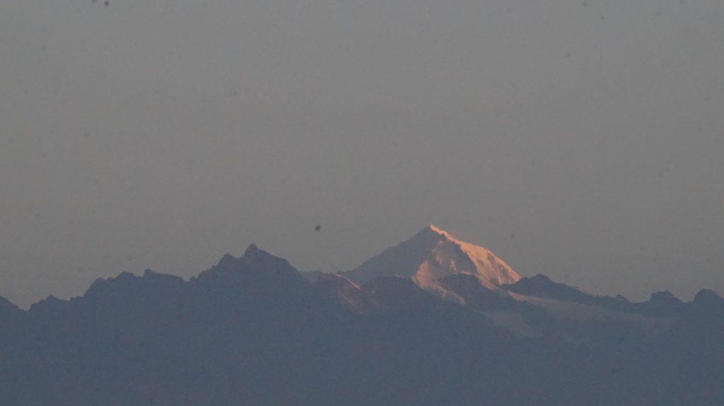 Ganesh Himal seen from Nagarkot