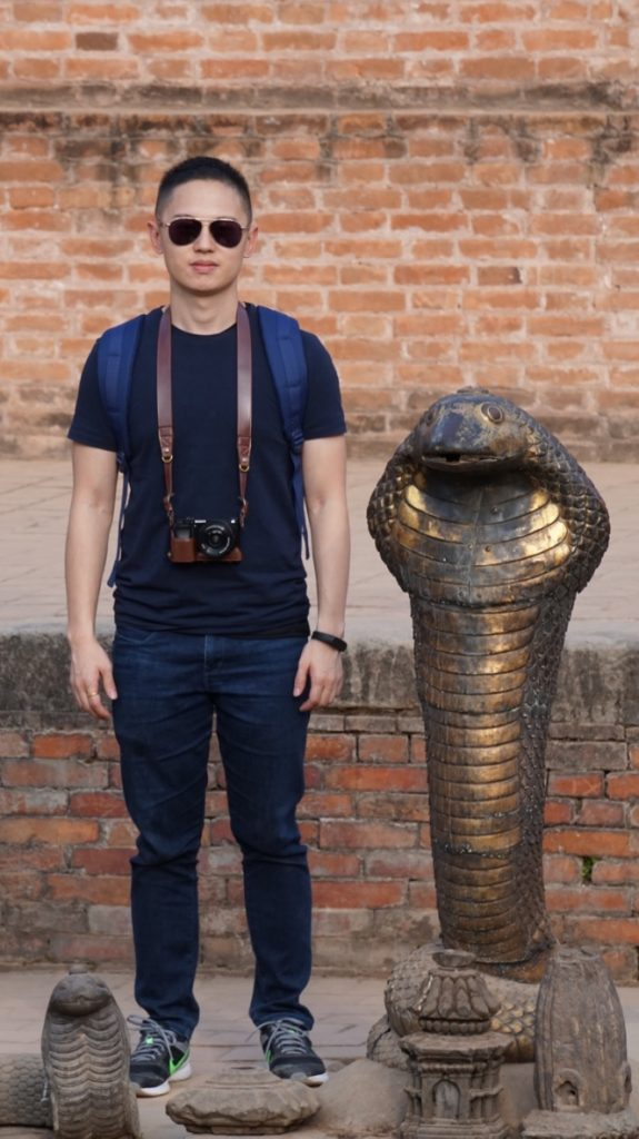 Willy at Bhaktapur Durbar Square