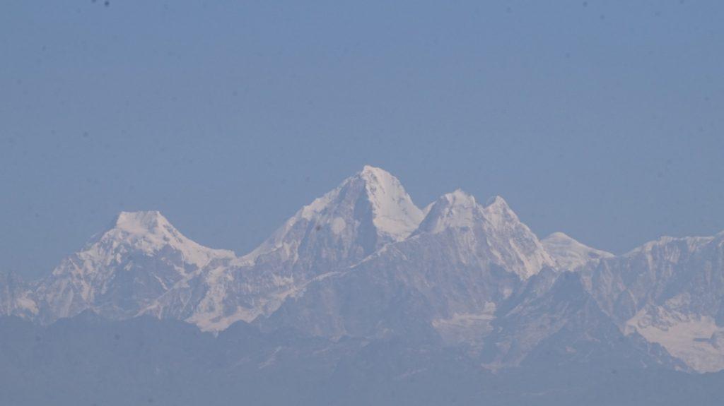 Himalaya range seen from Nagarkot