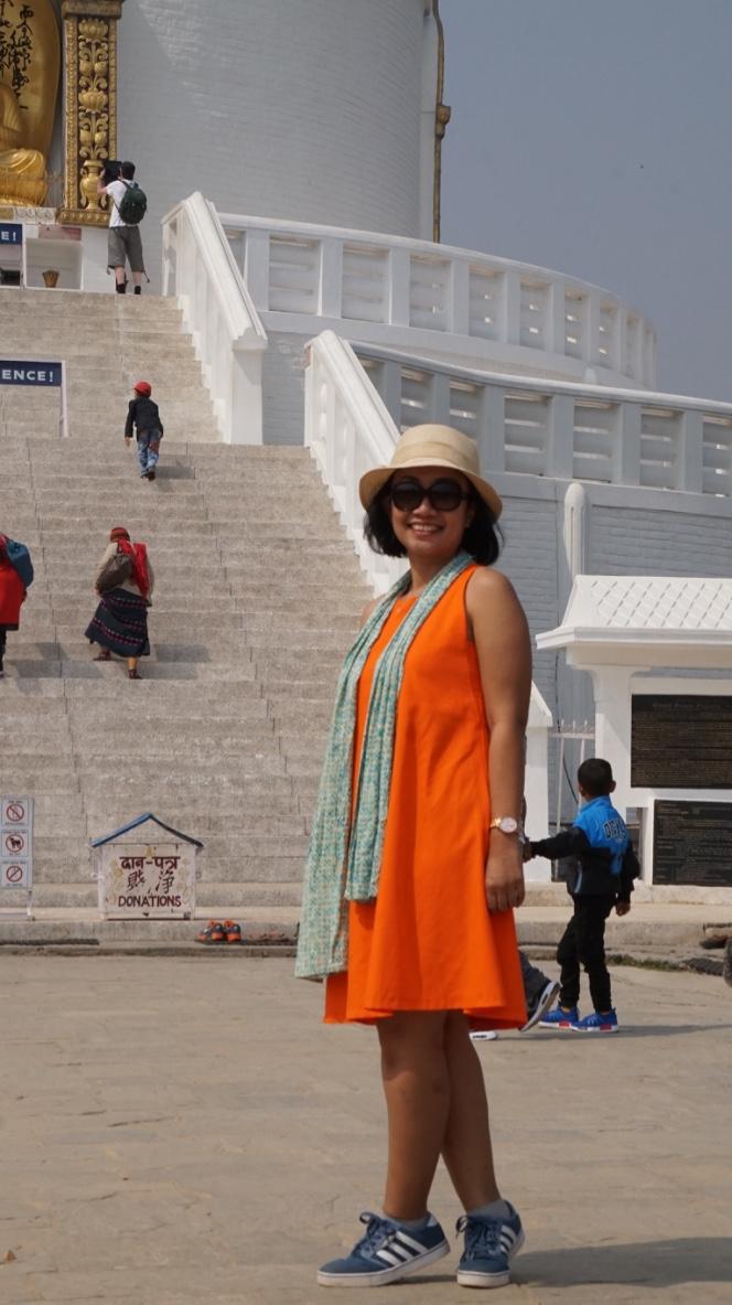 Mba Ica at Wolrd Peace Pagoda
