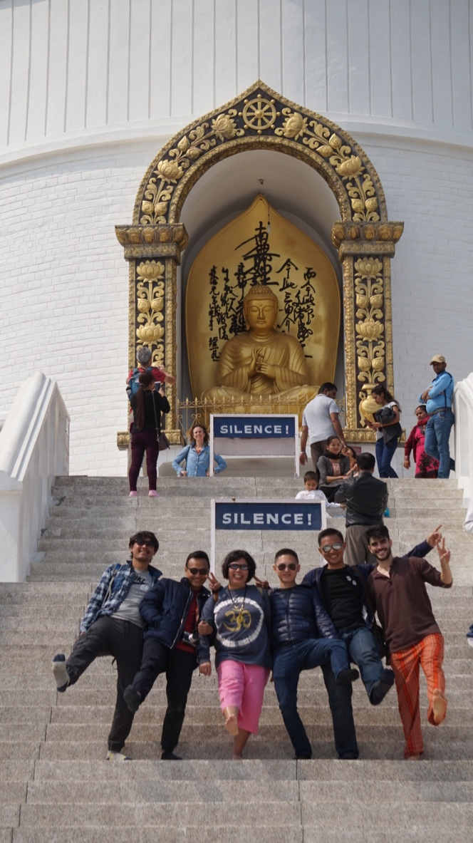 Togetherness in World Peace Pagoda