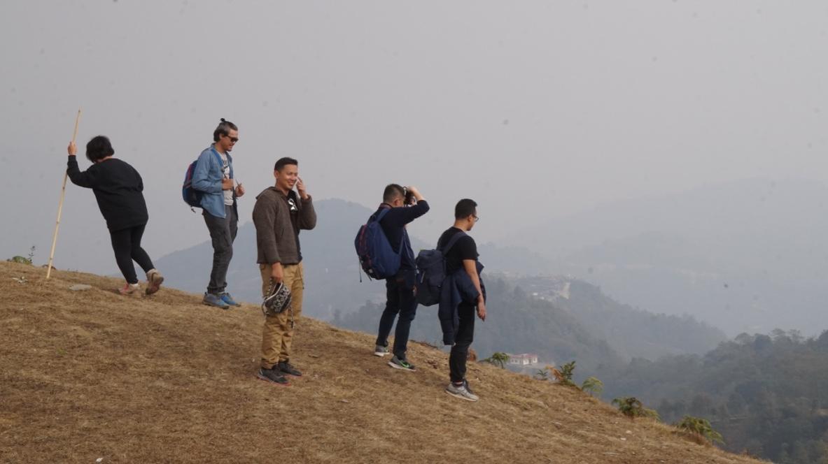 Hill Side through Dhampus