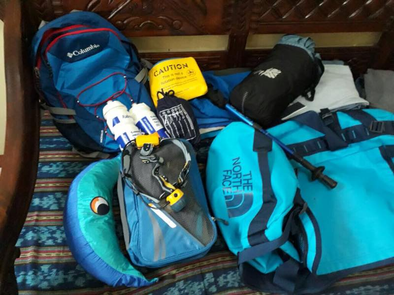Prepared All Needed, and Left Rest at Hotel