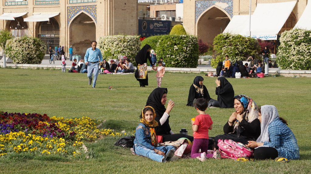 Picnic at Imam Square